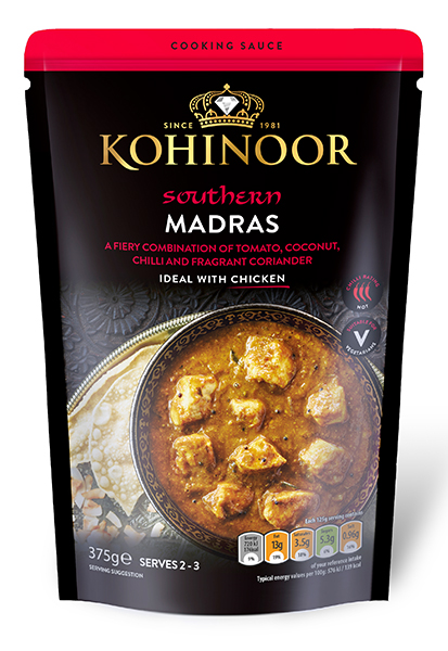 Madras Cooking Sauce