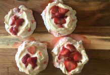 Strawberry Pavlovas