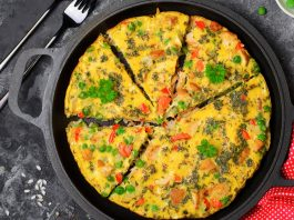 Boxing day frittata